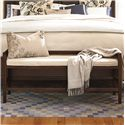 Universal Down Home Bed Bench with Cushion