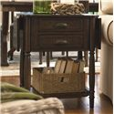 Paula Deen by Universal Down Home Drop Leaf End Table - Item Number: 193802