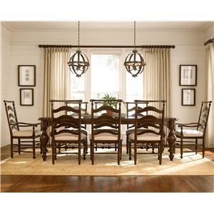 Paula Deen by Universal River House 9 Piece River House Dining Set