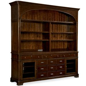 Morris Home Furnishings Riverside Casegoods / Entertainment Console with Hutch