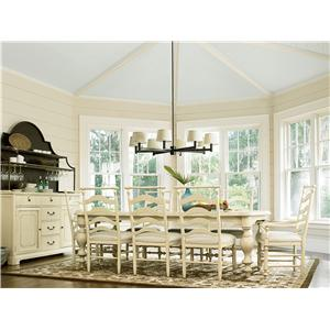 Paula Deen by Universal River House Formal Dining Room Group