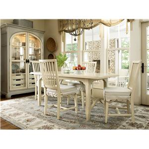 Morris Home Furnishings Riverside Casual Dining Room Group