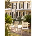 Universal River House Pull-Up Side Chair with Slat Back