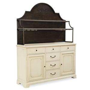 Morris Home Furnishings Riverside Home Cooking Cupboard with Hutch