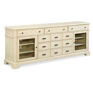 Morris Home Furnishings Riverside Entertainment Console