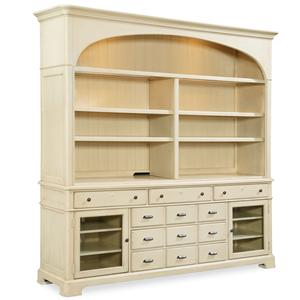 Paula Deen By Universal River House Entertainment Console With Hutch
