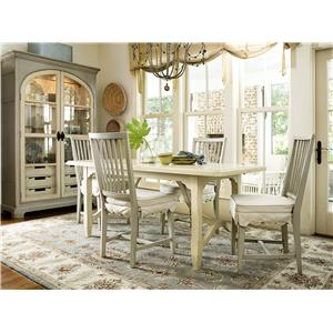 Morris Home Furnishings River House Casual Dining Room Group