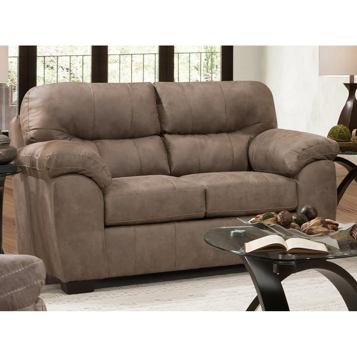 1780 Loveseat by Peak Living at Prime Brothers Furniture