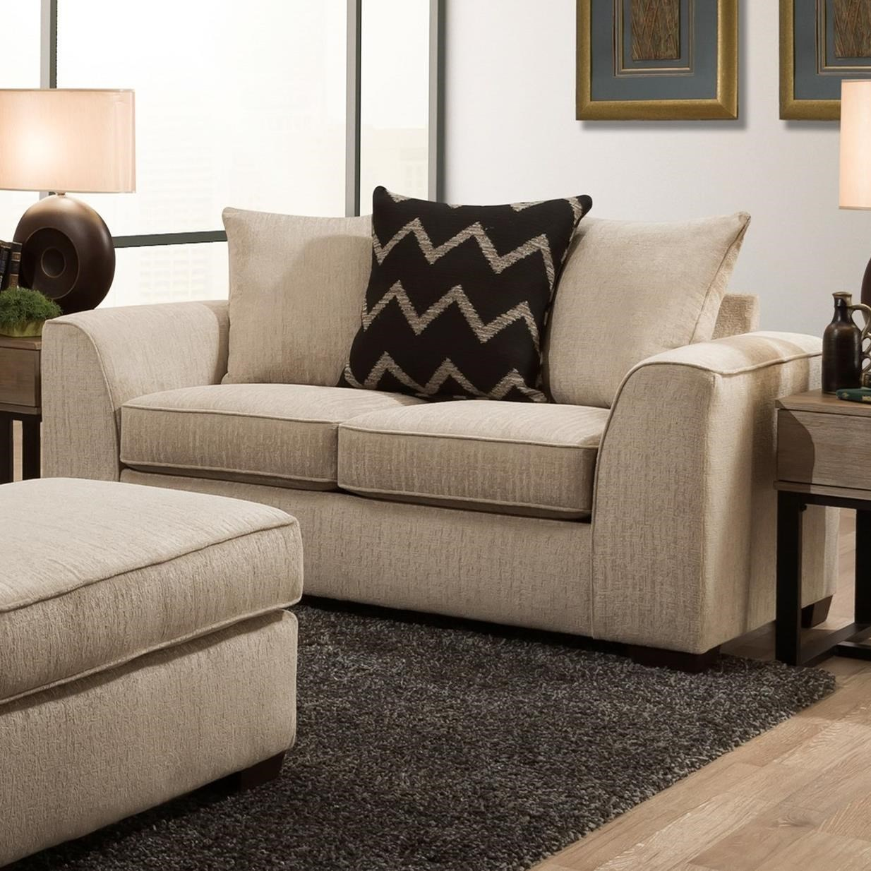 2600 Loveseat by Peak Living at Prime Brothers Furniture