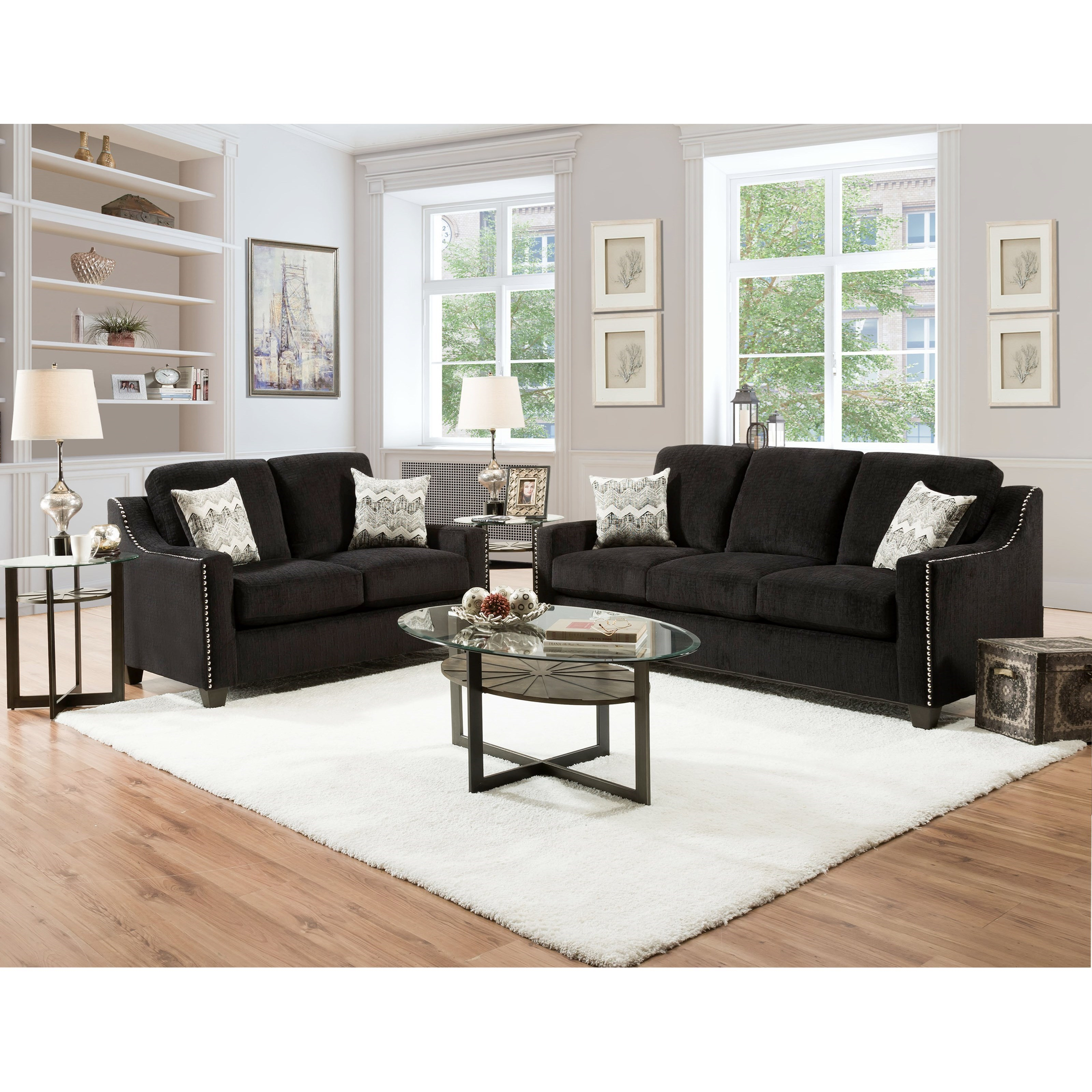 3470 Stationary Living Room Group by Peak Living at Prime Brothers Furniture