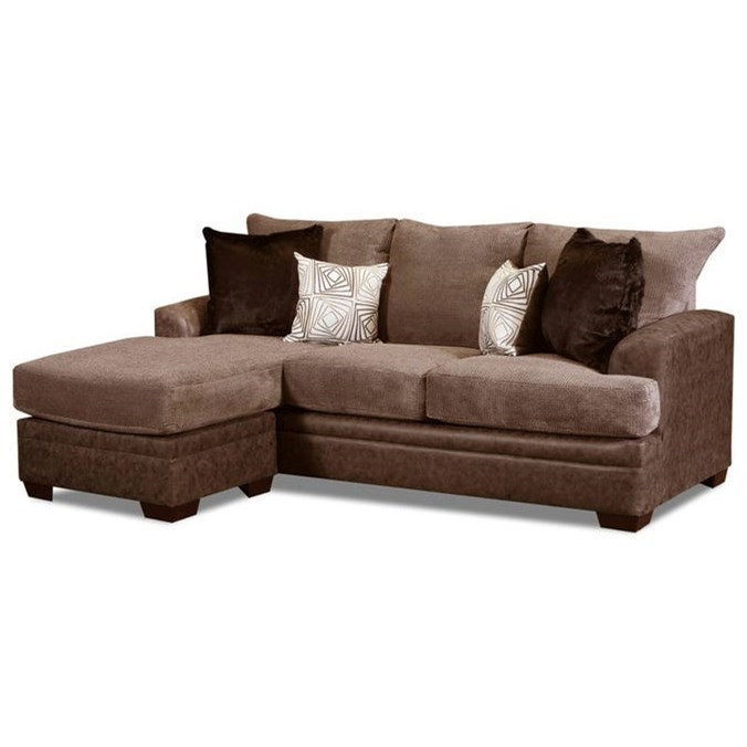 3650 Sofa Chaise by Peak Living at Prime Brothers Furniture