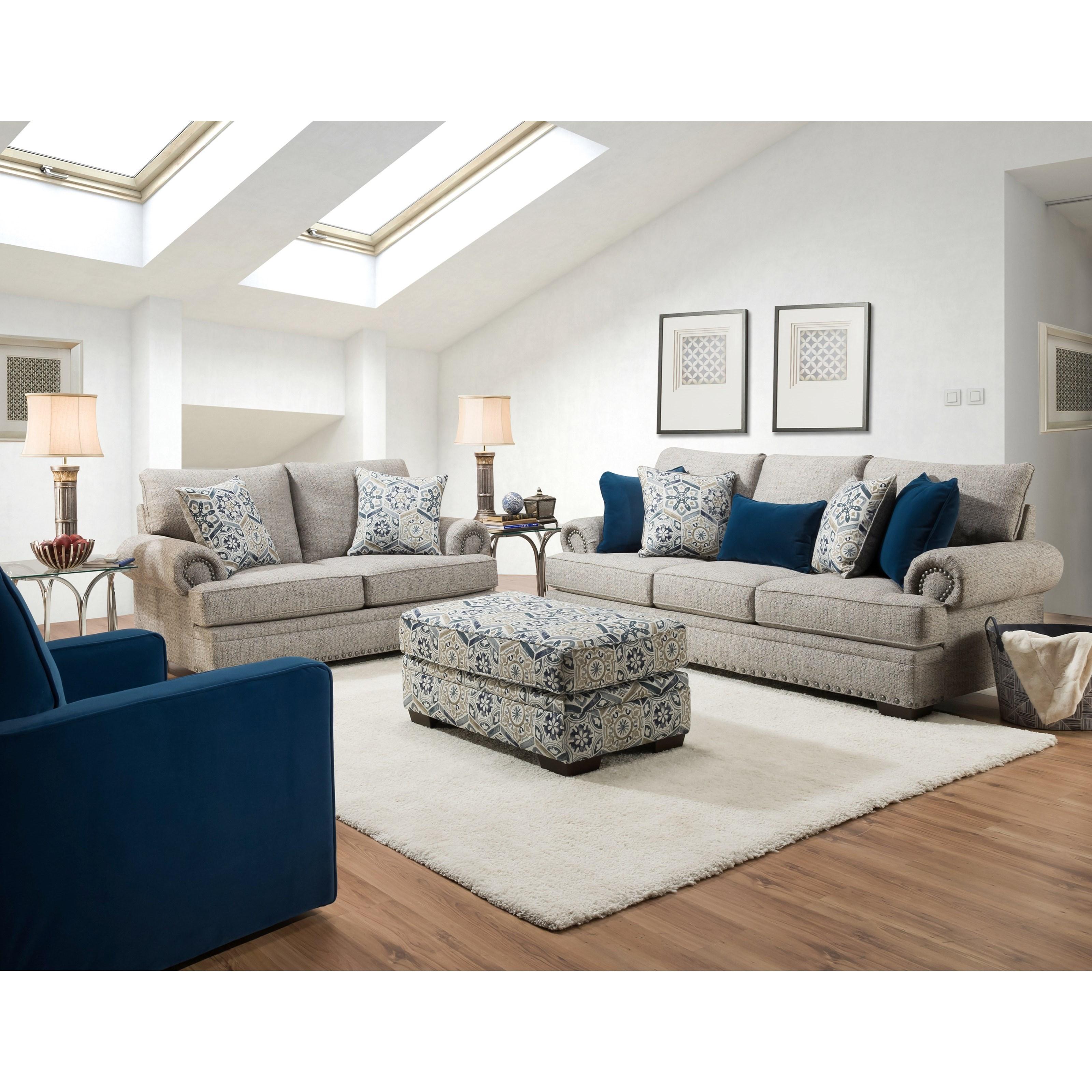 8100 Living Room Group by Peak Living at Darvin Furniture