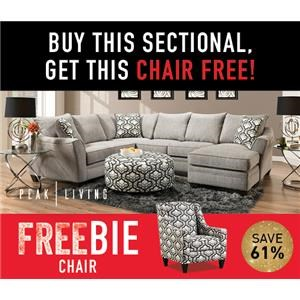 Belford Sectional with FREEBIE!