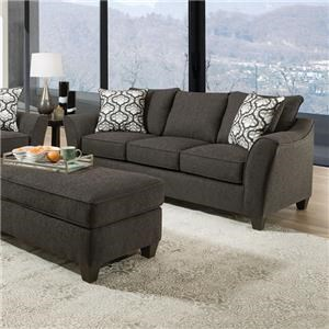 Belford Sofa with Accent Pillows