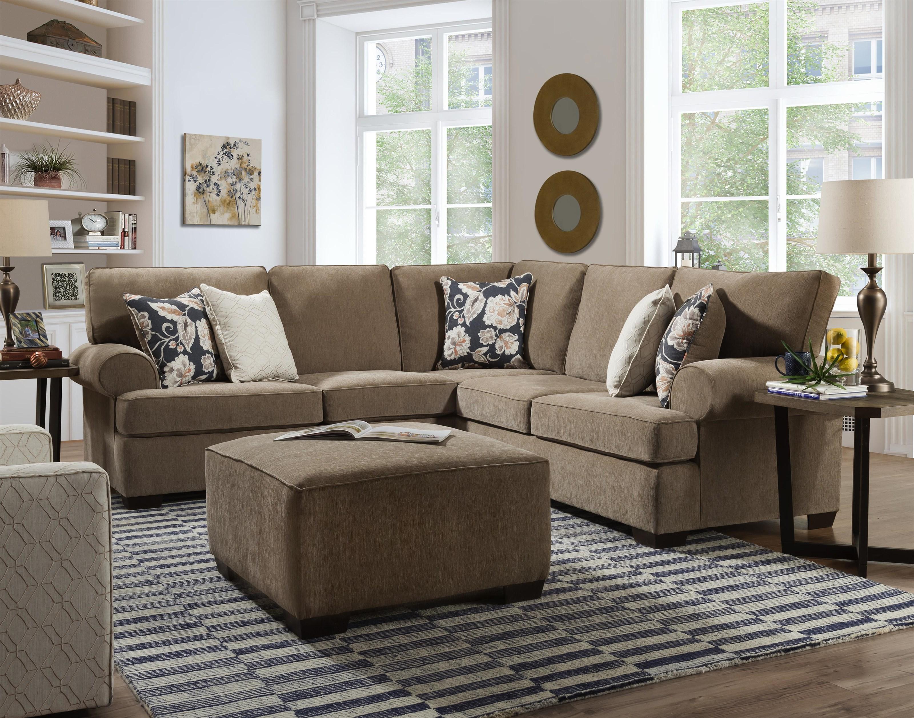 Byron Byron Sectional Sofa by Peak Living at Morris Home