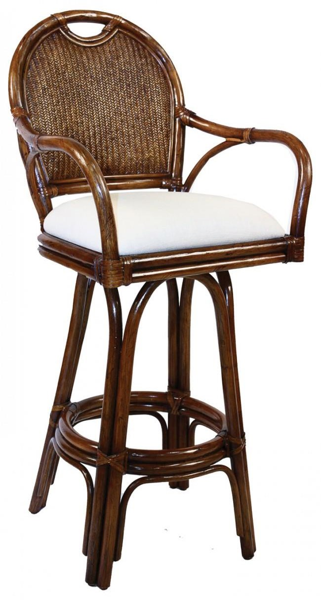 "Bar Stools  30"" Swivel Barstool by Pelican Reef at Baer's Furniture"