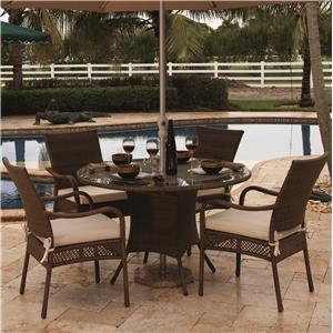 Pelican Reef Barbados  Round Table & Arm Chair Set