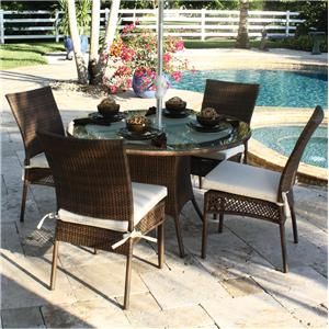 Pelican Reef Barbados  Round Table & Side Chair Set
