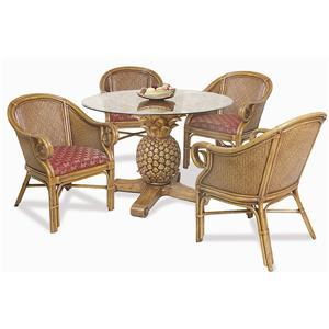 Pelican Reef Ocean Reef 5 Piece Table & Chair Set