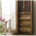 Morris Home Furnishings Newton Falls Dresser and Storage Mirror Combo - Hidden Jewelry Storage