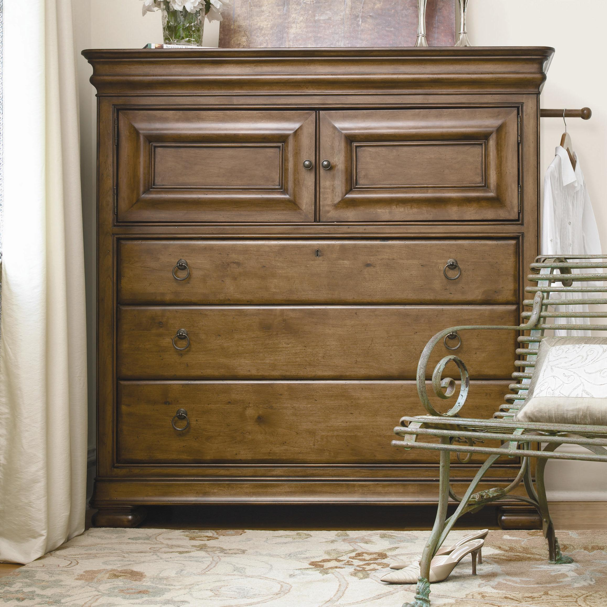 Morris Home Furnishings Newton Falls Newton Falls Dressing Chest - Item Number: 071175