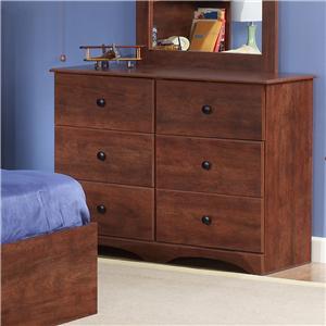 "Perdue 11000 Series 45"" 6-Drawer Dresser"