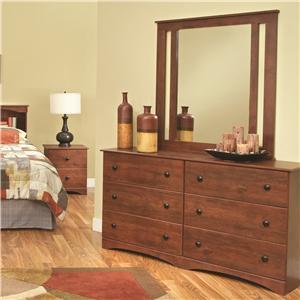 """59"""" Dresser & Mirror"""