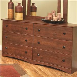 "Perdue 11000 Series 59"" 6-Drawer Dresser"