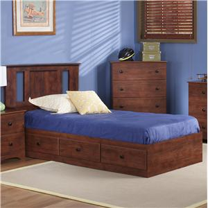 Perdue 11000 Series Twin Panel Mates Bed