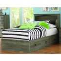 Perdue 13000 Series Twin Bookcase Bed - Item Number: 13-763+031B