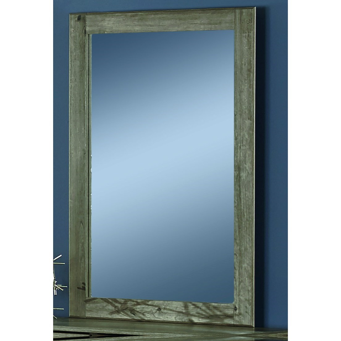 13000 Series Mirror by Perdue at Del Sol Furniture