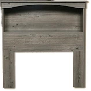 13000 Series Twin Bookcase Headboard by Perdue at Del Sol Furniture