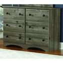 Perdue 13000 Series Dresser - Item Number: 13446