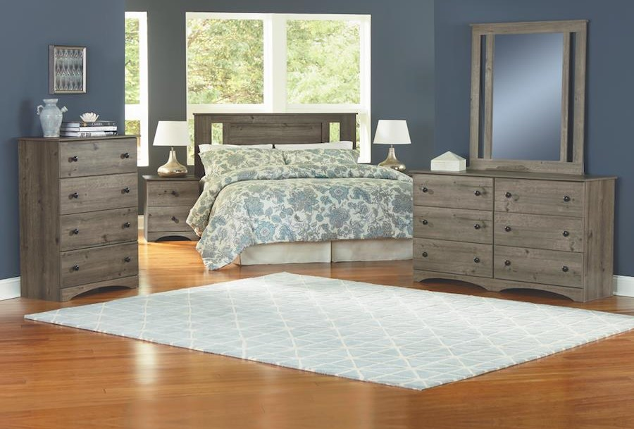 4 Piece Full Bedroom Group