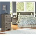 Perdue 13000 Series 3 Piece Twin Bedroom Set - Item Number: 13000TWN-SC-NS