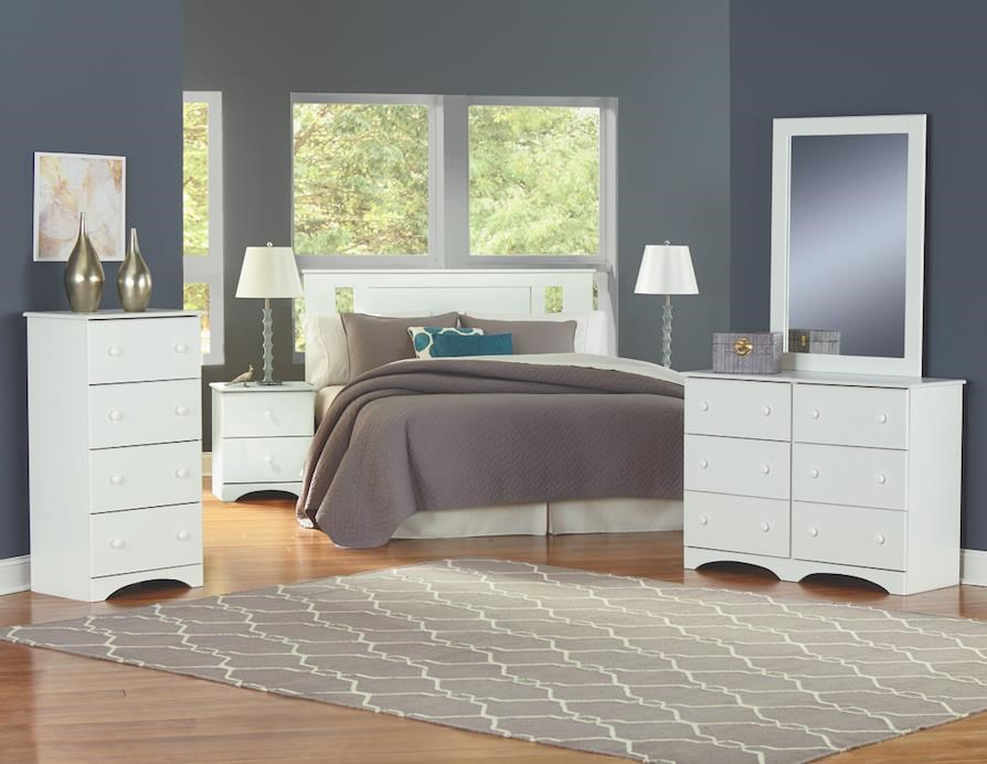6 Piece Full Storage Bedroom Group