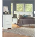 Perdue 14000 Series 3 Piece Twin Bedroom Set - Item Number: 14000TWN-SC-NS