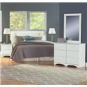 Perdue 14000 Series 4 Piece Full Bedroom Group - Item Number: 14FL-BD-M-NS