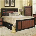 Perdue 49000 Series Queen Storage Bed - Item Number: 49030+49030FB+66030BR+72652
