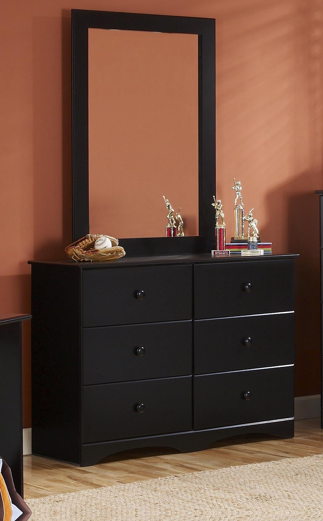 "45"" Dresser and Mirror Combination"