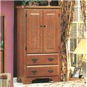 Perdue 54000 Series Armoire - Item Number: 54312
