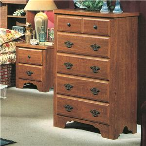 Perdue 54000 Series 5-Drawer Chest