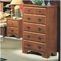 Perdue 54000 Series 5-Drawer Chest - Item Number: 54315