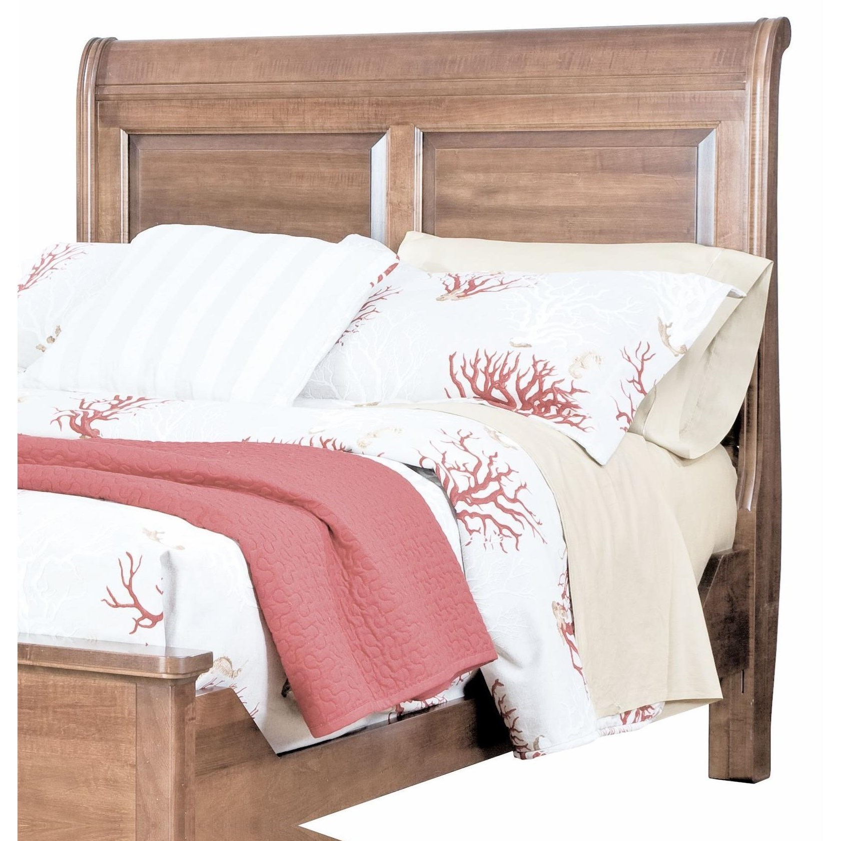 Beds Twin Sleigh Headboard by perfectbalance by Durham Furniture at Stoney Creek Furniture