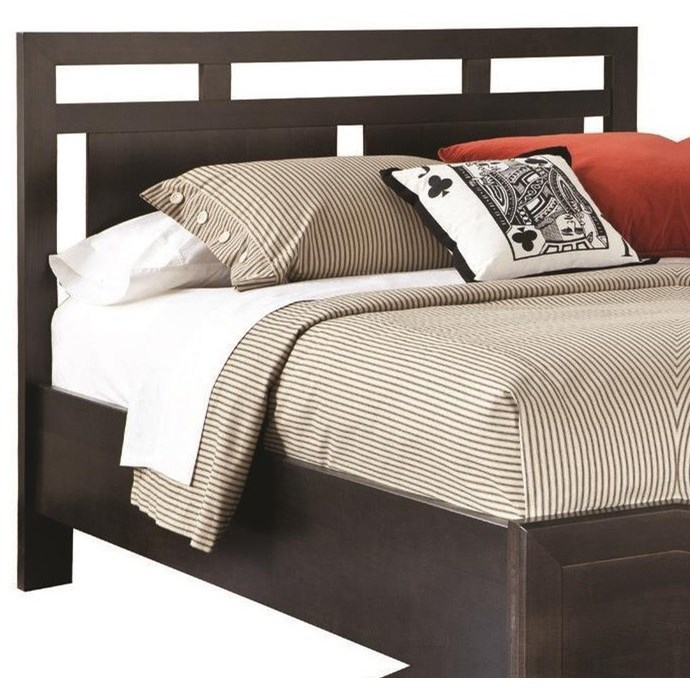 Beds Low Profile Panel  Queen Headboard by perfectbalance by Durham Furniture at Stoney Creek Furniture