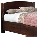 perfectbalance by Durham Furniture Beds Arch Top Queen Headboard - Item Number: 3000-122H