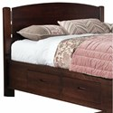 perfectbalance by Durham Furniture Beds Arch Top King Headboard - Item Number: 3000-142H