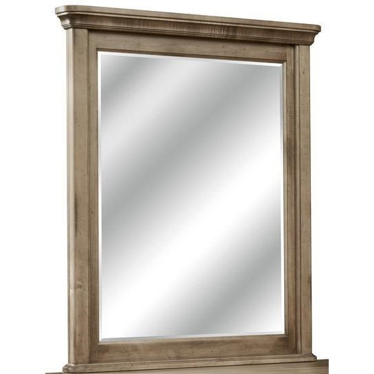 Millcroft Vertical Frame Mirror by perfectbalance by Durham Furniture at Stoney Creek Furniture