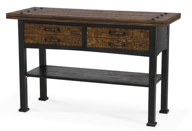 Sawmills Sofa Table / Media Console by Peters Revington at Westrich Furniture & Appliances