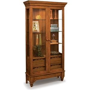 Philip Reinisch ColorTime - Chestnut Summerville Display Cabinet